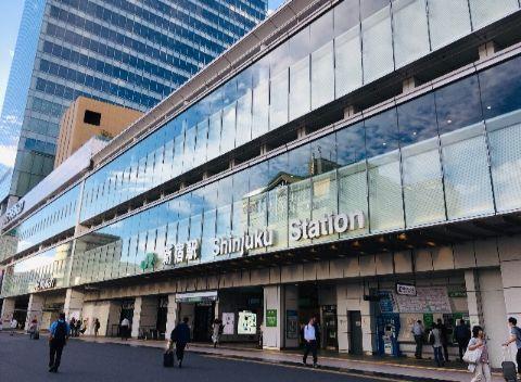 JR新宿駅_新南口改札前