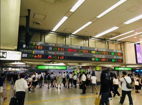 JR新宿駅_西口改札