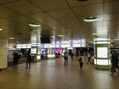 JR新宿駅_西口地下広場