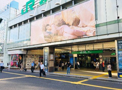 JR新宿駅_南口前