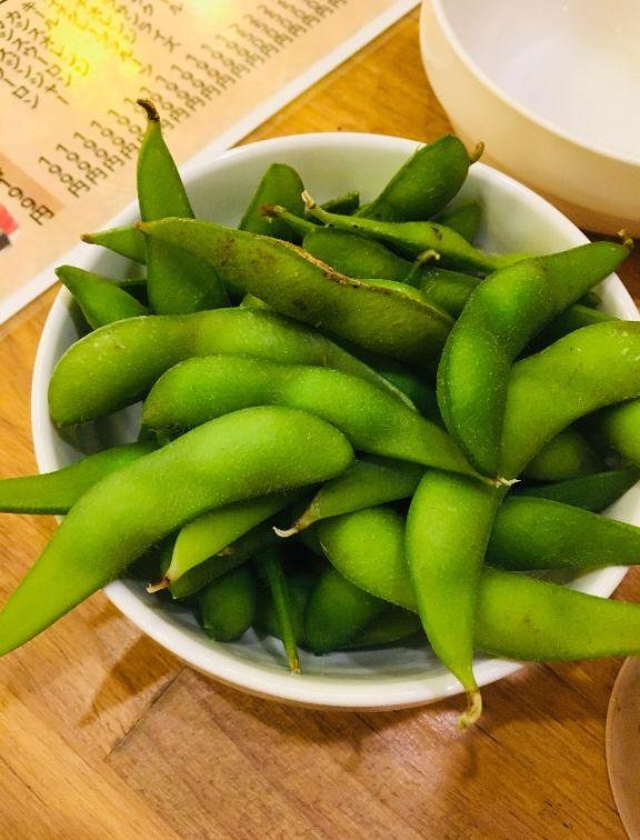 鶏ヤローの枝豆